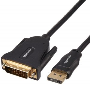 AmazonBasics DisplayPort to DVI Cable