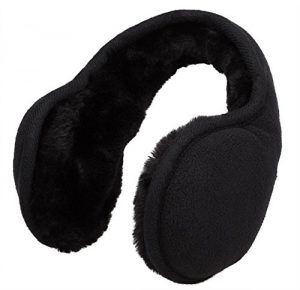 Metog Unisex Foldable Ear Warmers Polar Fleece kints Winter EarMuffs