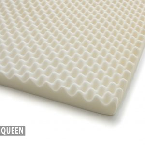 Milliard Egg Crate Ventilated Memory Foam Mattress Topper