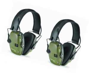 Two Pack Howard Leight R-01526 Impact Sport Electronic Earmuff Set