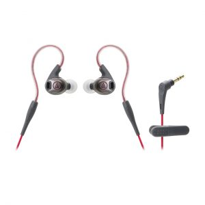 Audio-Technica ATH-SPORT3BK SonicSport In-Ear Headphones for Gym