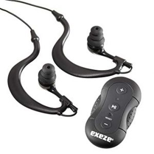 Exeze Rider Waterproof MP3 Player 4GB including waterproof headphones