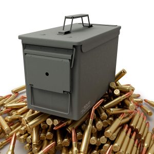 Solid Tactical 50 Cal Metal Ammo Can