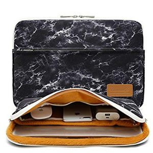 Canvaslife Marble pattern 360-degree protective laptop sleeve