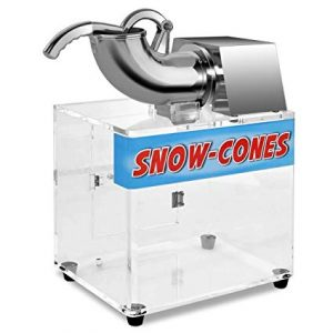 Costzon Electric Stainless steel Ice Shaver Machine
