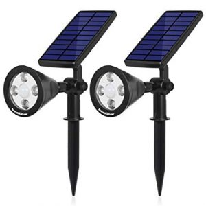 InnoGear Upgraded Solar 2-in-1 Waterproof Flood Lights