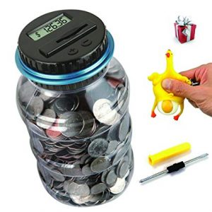 OLICTA Piggy Bank Digital Counting Coin Bank