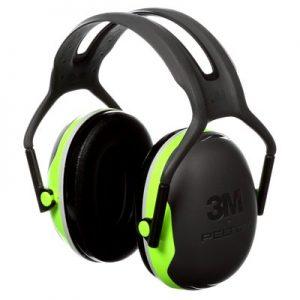 3M Peltor X-Series Over the Head Earmuffs