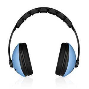 HearTek Kids Earmuffs Hearing Protection with Travel Bag