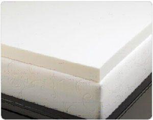 Memory Foam Solutions 3-inch Memory Foam Bed Topper