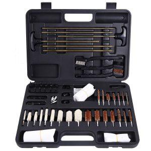 Ohuhu Gun Cleaning Kit 58 Pieces Hand Gun, Rifle & Shot Gun Cleaning Kits Tool Set with Carrying Case