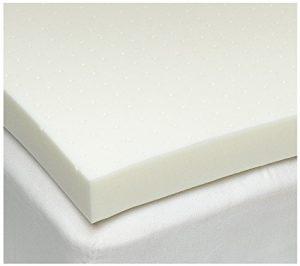 SleepJoy 3″ ViscO2 Ventilated Memory Foam Mattress Topper
