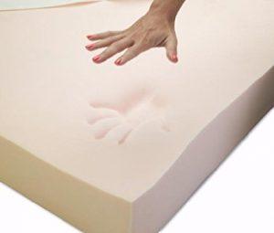Visco Elastic Memory Foam Mattress Pad Topper