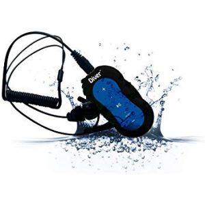 Diver 4G Waterproof Headphones for Swimming