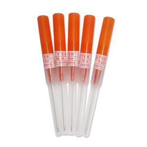 New Star Tattoo 5PCS 14 Gauge Piercing Needles IV Catheter Needles