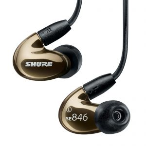 Shure SE-846-CL Sound isolating earbuds