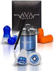 Ava Senses High Fidelity Ear Plugs for Musicians