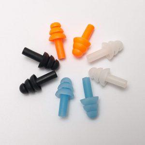 Mirafly Reusable Soft Silicone Earplugs