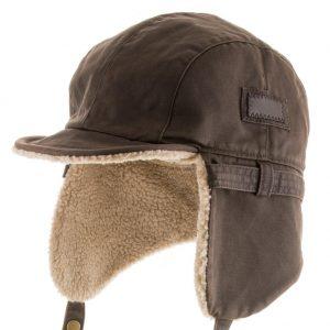 Ultrafino Best Pilot Trooper Aviator Faux Leather Hat