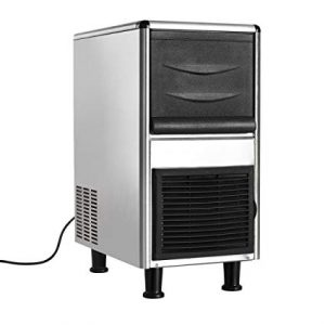 Costzon Stainless Steel Commercial Ice Maker