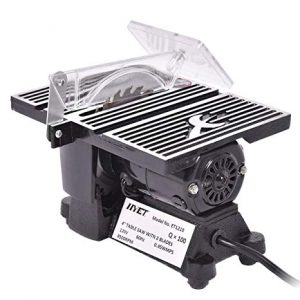 Goplus Electric Table Saw 8500 RPM Mini Adjustable Miter Saw