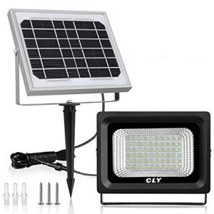 LTE 60 LED Solar Outdoor Security Flood Lights