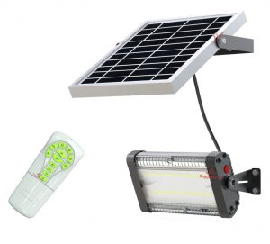 RuggedGrade High Power 2000 Lumen Carina Series Solar LED Flood Lights
