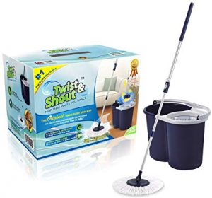 Twist and Shout Mop - The Award-winning Original Hand Push Spin Mop