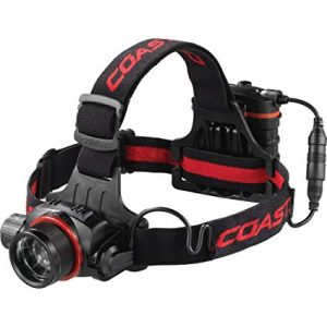 COAST FL85 615 Lumen Dual Color Pure Beam Focusing LED Headlamp