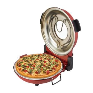 Kalorik Red High Heat Stone Pizza OvenKalorik Red High Heat Stone Pizza Oven