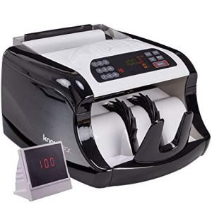 Knox Cash Bill Counter with Counterfeit Detection