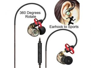 Daioolor EP187 Wired in Ear Monitor Headphones
