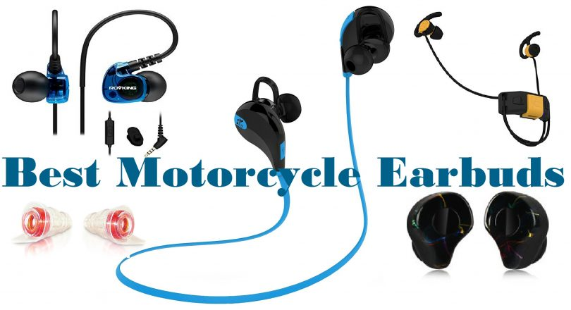 Motorcycle earbuds