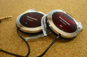 Panasonic Clip Headphones