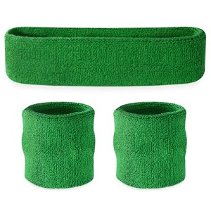 Suddora Sweatbands Terry Cloth Athletic Sweat Bands