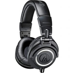 Audio-Technica ATH-M50x Professional Studio Monitor Black Headphones