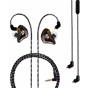 BASN Professional in-Ear Monitor Headphones for Singers Drummers Musician