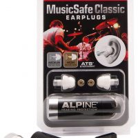 Alpine Hearing Protection MusicSafe Classic Ear plugs for Musicians