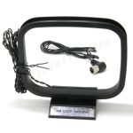 Ancable FM antenna 75ohm UNBAL and AM loop antenna for Yamaha Natural Sound Stereo Receiver