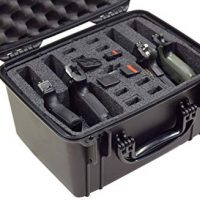 Case Club Waterproof 4 Pistol Case with Silica Gel Ammo Can
