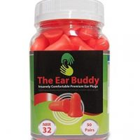 Ear Buddy Premium Soft Foam Best Noise Cancelling Earplugs