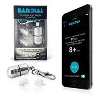 EarDial High-Fidelity Reusable Hearing Protection Earplugs For Musician