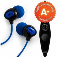 H2O Audio Surge S+(Short Cord) Waterproof Headphones For Swimming