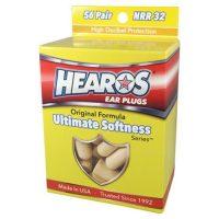 HEAROS Ultimate Softness Series Foam Earplugs