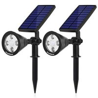 InnoGear Upgraded Solar 2-in-1 Waterproof Flood Lights