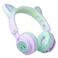 Kids Headphones, Riwbox CT-7S Cat Ear Bluetooth Headphones