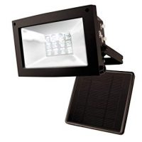 MAXSA Solar-Powered 10 Hour Flood Lights