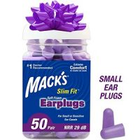 Mack's Slim Fit Soft Foam 50 Pair Small EarPlugs