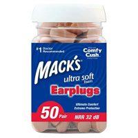 Mack's' Ultra Soft Foam Earplugs