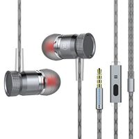 OUZIFISH Premium Wired Metal Earbuds
